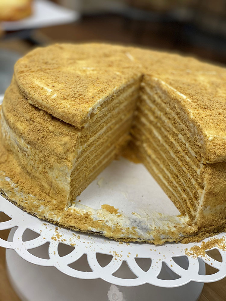 Russian-Honey-Cake